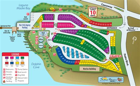 South Padre Island, Texas Rv Camping Sites  South Padre
