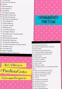 "Paulina Goto on Twitter: ""Voy a contestar el chismografo ..."