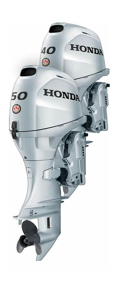 Outboard Honda Hp Bf40 Motor Motors Marine