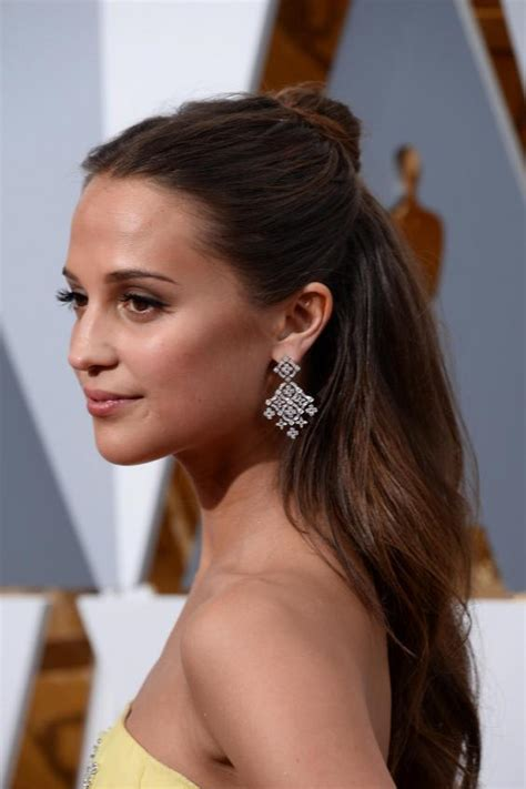 Carpet Hairstyles by Oscars 2016 Best Hairstyles On The Carpet The
