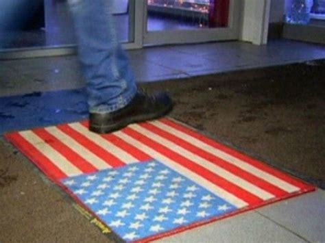flag doormat russian shopping mall lays u s flag doormats breitbart