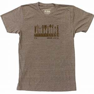 Locally Grown Clothing Men's Drink Local Taps Tee Shirt