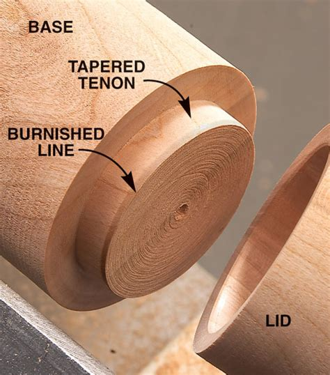 turned lidded box popular woodworking magazine