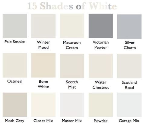 paint colors shades of white 25 best ideas about shades of white on white