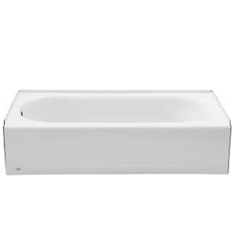 americast bathtub home depot american standard princeton 5 ft left drain bathtub