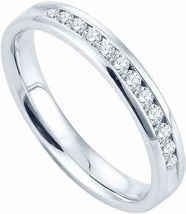 JCPenney FINE JEWELRY 14 CT TW Channel Set Diamond
