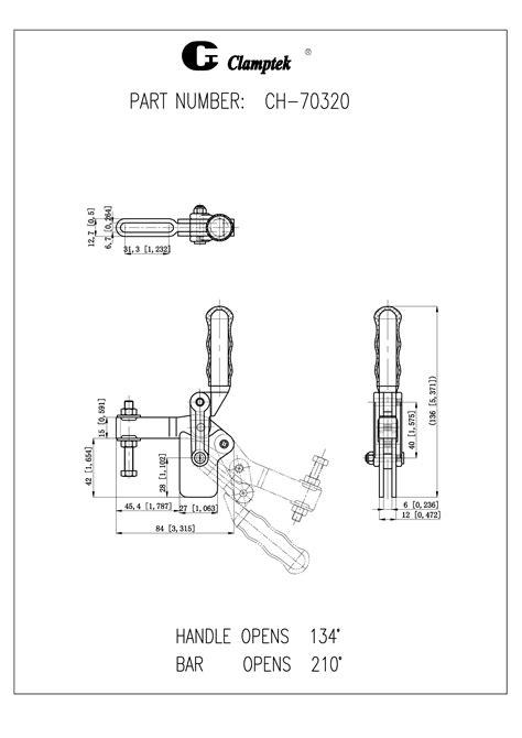 CH-70320 | Heavy Duty Weldables | Clamptek