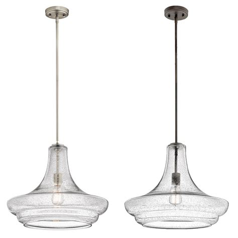 kichler 42329 everly retro 19 quot wide drop ceiling light