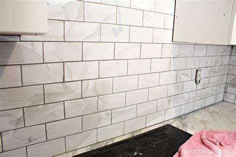 Subway Tile For Kitchen Backsplash by Decor Awesome Subway Tile Backsplash For Kitchen