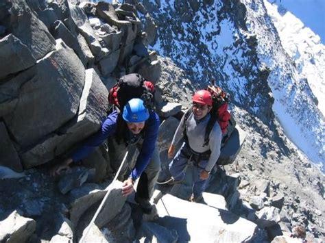 progression pour faire le mont blanc progression en alpinisme dans le massif du mont blanc