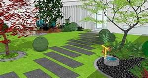 Aménager Son Jardin Logiciel Gratuit : van damme parcs et jardins paysagiste 78 27 95 92 ~ Louise-bijoux.com Idées de Décoration