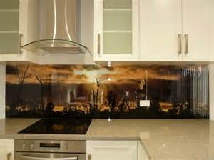 designer backsplashes for kitchens adelaide glass painters leadlight studio glass splashbacks