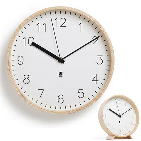horloge murale ou 224 poser rimwood umbra absolument design