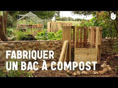 fabriquer composteur palette fabriquer un bac 224 compost garden composteur