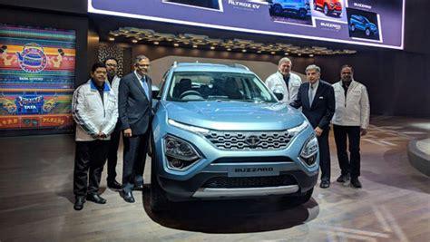 Tata (h7x) Buzzard Concept Unveiled At 2019 Geneva Motor