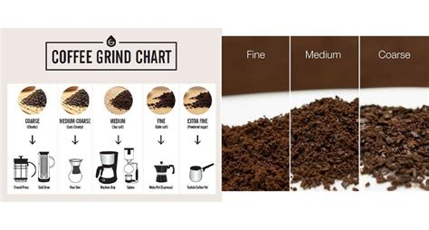 Ground coffee beans is exhaled several times faster than whole beans because it has more points of contact with the it's impossible to store ground coffee for a long time—it will begin to lose freshness immediately after grinding and even in good packaging will last. coffee grind chart | Coffee brewing, Coffee grinds, Coffee