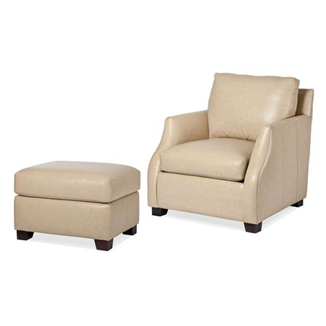 hancock and moore leather chair and ottoman hancock and moore 5830 1 5830 o nola chair and ottoman