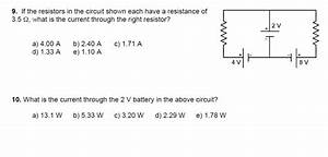 Solved: Can Someone Explain How To Use Kirchhoff's Loop Ru ...