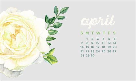 April 2019 Calendar Wallpapers