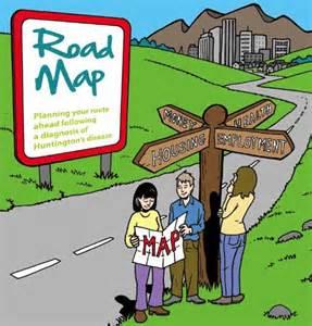 Cartoon Success Road Map
