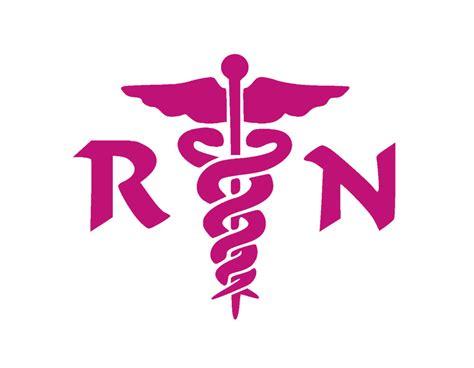 rn registered nurse vinyl window decal hot pink  medical nursing hospital ebay