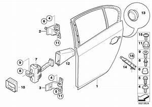 Bmw 535xi Door Rear Right  Body  Trim  Hinge  Brake