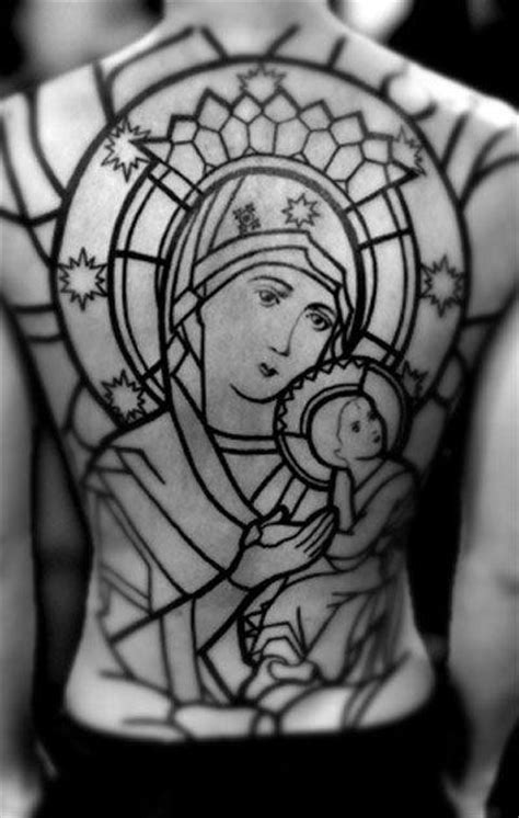 80 Stained Glass Tattoo Designs For Men - A Window To Ink Ideas