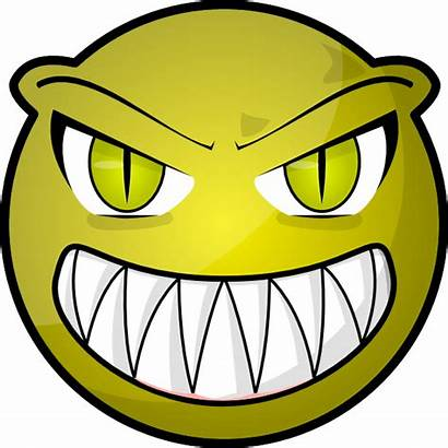 Face Scary Clip Clipart Clker Cliparts