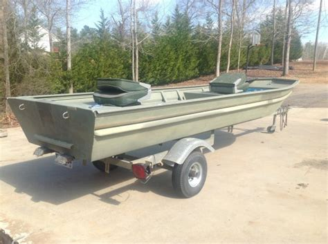 Jon Boat Trailers For Sale In Ga by Fs 14 Ft Duracraft Jon Boat W Trailer The Outdoors Trader