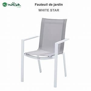 Fauteuil De Jardin Blanc : fauteuil de jardin tulum whitestar blanc ~ Teatrodelosmanantiales.com Idées de Décoration