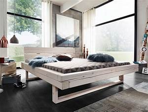 Massivholzbett Weiß 180x200 : rob massivholzbett fichte weiss lasiert 160 x 200 cm ~ Sanjose-hotels-ca.com Haus und Dekorationen