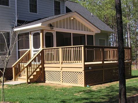 porches and decks charming american house design with screened in porch and