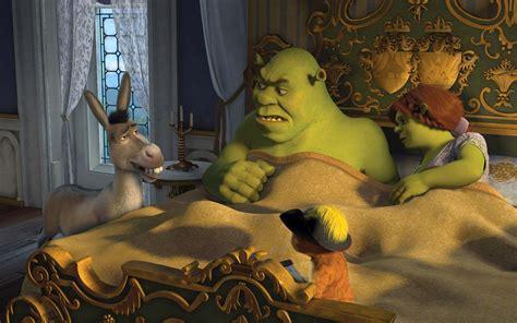 Beautiful Desktop Wallpaper Of Shrek Cartoon Wallpaper Of