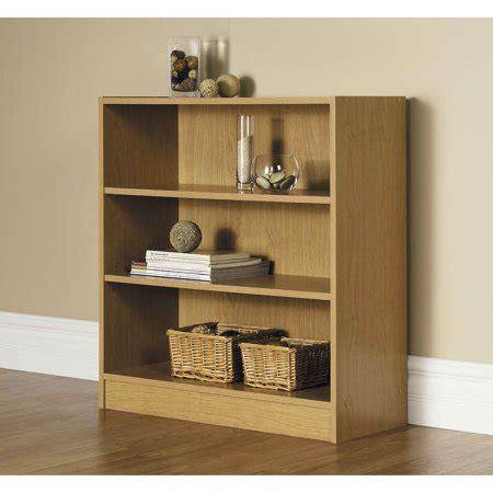 3 Foot Wide Bookshelf by Wide 3 Shelf Standard Bookcase Finishes