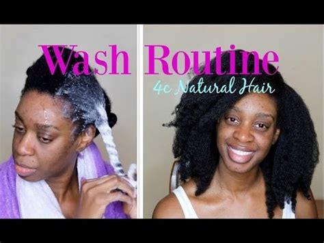 4c Natural Hair Wash Routine, Washing 4c Natural Hair