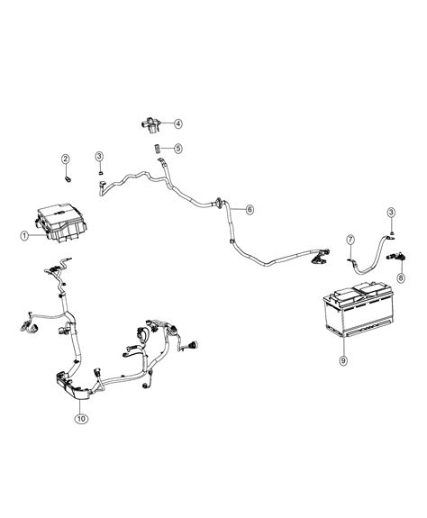 Jeep Battery Wiring Diagram by 2018 Jeep Grand Wiring Battery Negative Stop