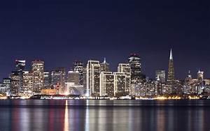 Duschvorhang San Francisco : fondo de pantalla ciudad nocturna con rascacielos hd ~ Michelbontemps.com Haus und Dekorationen