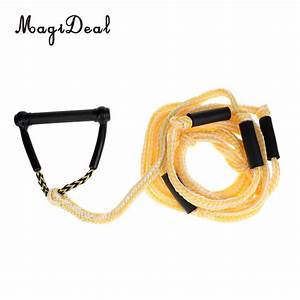Magideal Universal 24ft Water Ski Rope Tow Harness Rope