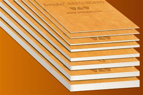 waterproof building board schluter 174 kerdi board kerdi board panels building panels schluter com