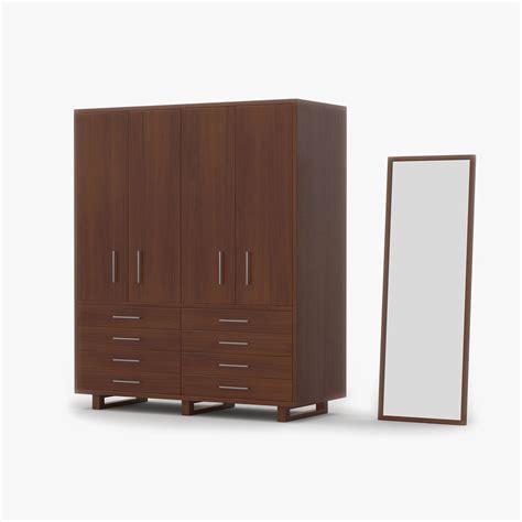 Wood Closet Cherry 3d Model $9  Fbx 3ds Max Free3d
