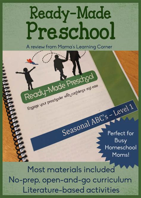 ready made preschool the open and go curriculum for busy 396 | Ready Made Preschool Review