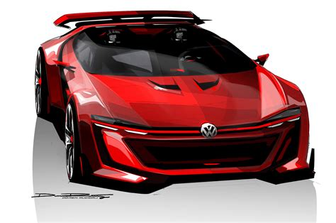 Volkswagen Gti Roadster Vision Gt Concept Unveiled Motor