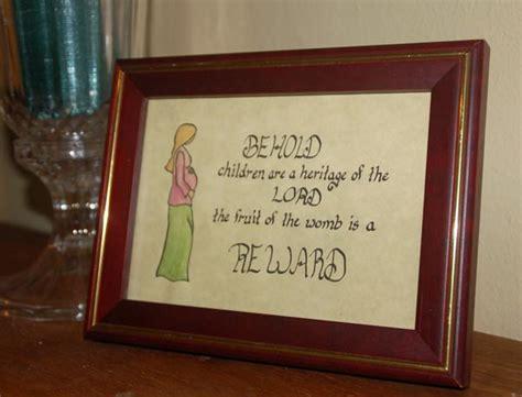 Home Interior 10 Commandments : Children-are-a-heritage-christian-home-decor