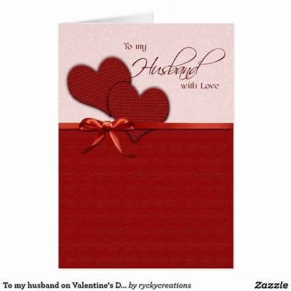 Husband Valentine Card Cards Zazzle Holiday Valentines