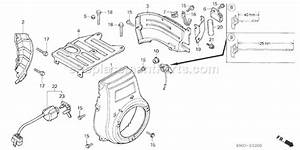 Honda G400 Parts List And Diagram