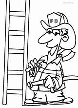 Coloring Fireman Pages Printable Firefighter Drawing Axe Tools Sheets Hat Cool2bkids Getdrawings Helmet Getcoloringpages Clipartmag Tool Colorings Drawings sketch template
