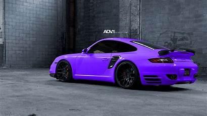Cars Exotic Wallpapers Purple Desktop Porsche Luxury
