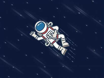 Astronaut Animated Space Astronauts Giphy Gifs Cool