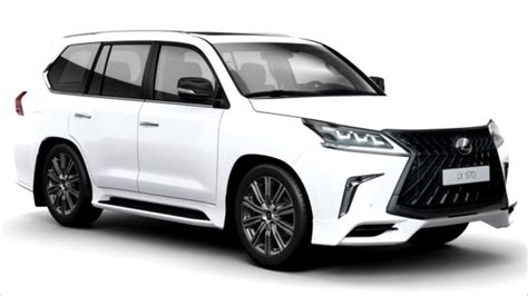 lexus lx  superior leaked   russia middle