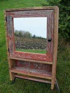 11 best images about vintage medicine cabinet on pinterest for Barnwood medicine cabinet